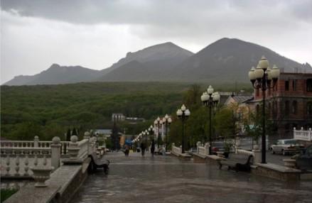 Города-курорты Кавминвод. Железноводск