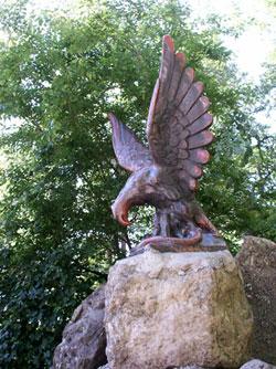 Скульптура «Орел», ск-р Л.К.Шодкий