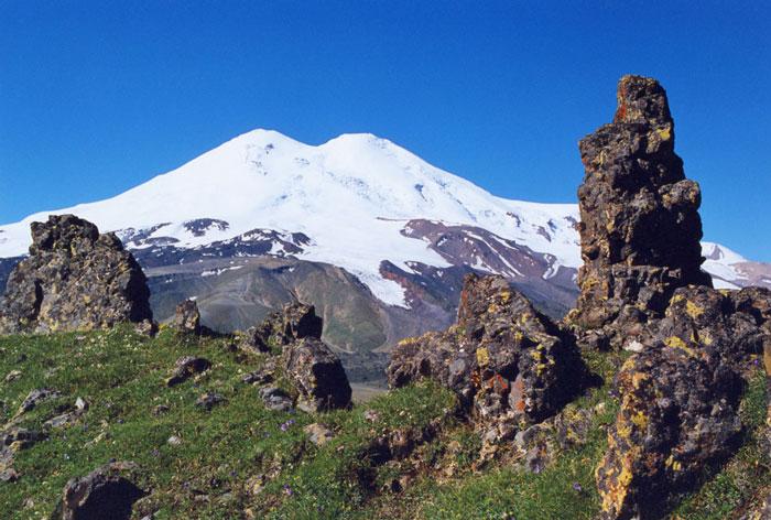 Легенда о происхождении Кавказских гор